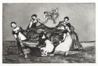 Pesa Mas Que Un Burro Muerto by Francisco de Goya