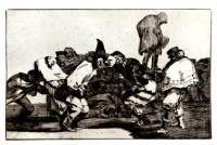 Alegrias Antruejo, que Manana Seras Ceniza by Francisco de Goya