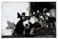 Dos Cabezas piensan Mejor que Una by Francisco de Goya