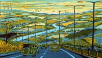 From the Motorway  by Gail Brodholt RE