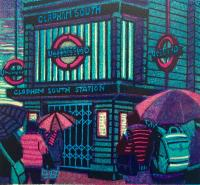 Tube Strike  by Gail Brodholt RE