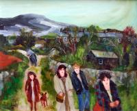 Going to St Austell by Gill  Watkiss