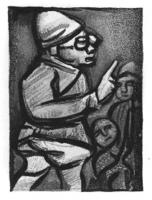 The Colonial Official by George  Rouault