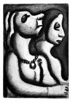 Two Stout Women by George  Rouault