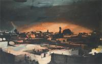 Storm over Marrakech by Herme Bellido