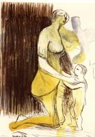 Mother & Child XXVI by Henry Moore