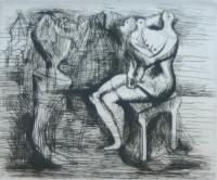 Seated Mother & Child (1951) by Henry Moore
