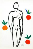 Nu aux Oranges by After Henri Matisse