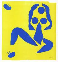 Nu Bleu IV by After Henri Matisse