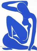 Nu Bleu VI by Henri Matisse