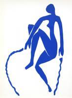 Nu Bleu VIII by Henri Matisse
