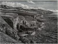 Dorset Coast, Seacombe by Howard Phipps