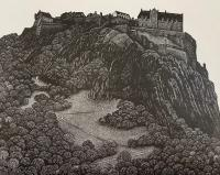 Edinburgh Castle by Hilary Paynter