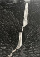 Pistyll Rhaeadr by Hilary Paynter