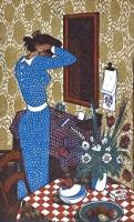 The Blue Dress by John Buckland-Wright
