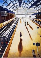 Arrival 1 Paddington Station by John  Duffin