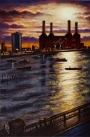 Battersea Sunlight by John  Duffin