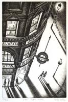 Last Tube Home by John  Duffin
