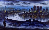 London from Greenwich by John  Duffin