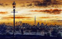London from Primrose Hill by John  Duffin