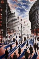 Regent Street Sunlight by John  Duffin