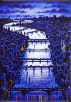 Thames Bridges  by John  Duffin