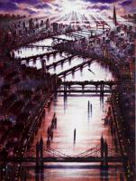 Thames Bridges East by John  Duffin