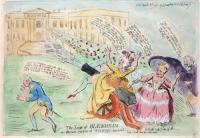 The Seige of Blenheim by James Gillray