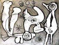 Saccades XXIII by Joan Miró