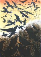 Rebel of Ravens (colour) by Julia Manning RE