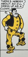 Desperate Dan - Dress-Up as a Clown  by John Patrick Reynolds