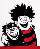 Dennis Hugs Gnasher by John Patrick Reynolds