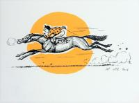 Thelwell Racing Sun  by John Patrick Reynolds
