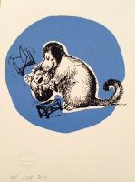 Thelwell Hugging dog by John Patrick Reynolds