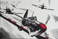 Spitfire chase by John Patrick Reynolds