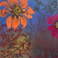 My Dahlia Collection III by Julia Manning RE