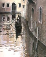 The Gondolier  by Kathleen Caddick
