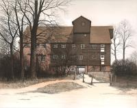 Houghton Mill by Kathleen Caddick