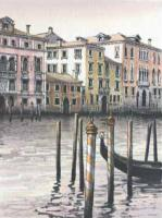 Grand Canal II by Kathleen Caddick