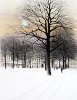 London in the Snow by Kathleen Caddick