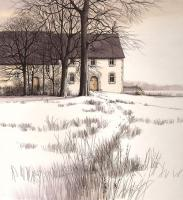 Parkland Cottages by Kathleen Caddick