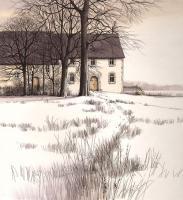 Parkland Cottages by Kathleen Caddick