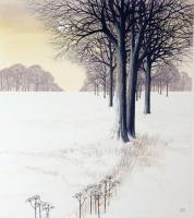 Snow Beeches by Kathleen Caddick
