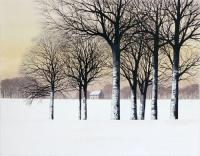 Snow Morning by Kathleen Caddick