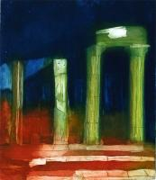The Temples at Agrigento by Louise Davies