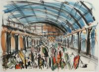 Kings Cross Station by Lucy Farley