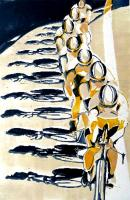 The Chain Gang (yellow) by Lisa Takahashi