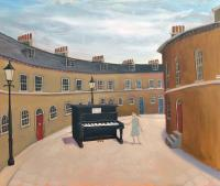 Piano in Keystone Crescent  by Mychael Barratt PRE