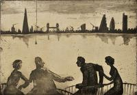 Urban Myths II -  Icarus in Rotherhithe  by Mychael Barratt PRE
