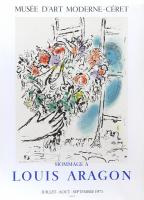 Hommage a Louis Aragon by Marc Chagall